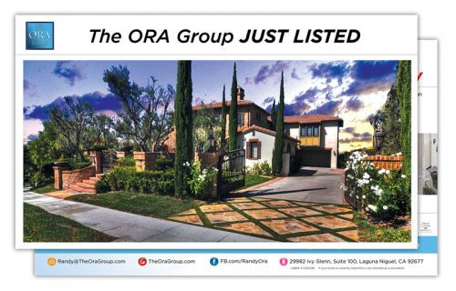 The Ora Group Just Listed
